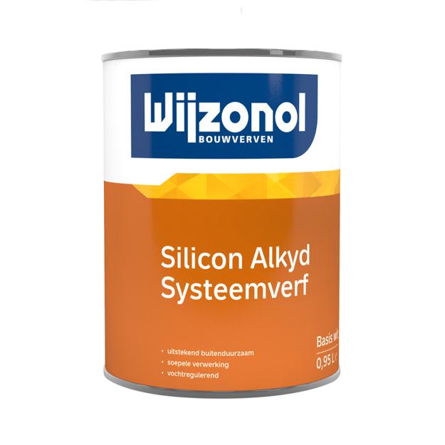 Afbeeldingen van WIJZONOL LBH SIL. ALKYD SYSTEEMVERF BTR 2.0L
